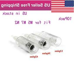 10pack 12/36/42pin/Nano Needle Cartridges Fit For Derma Pen