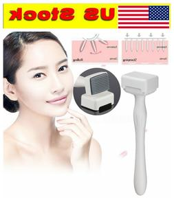 140 microneedle derma roller stamp skin care
