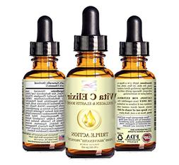 20% Vitamin C and Hyaluronic Acid – Organic Face and Neck