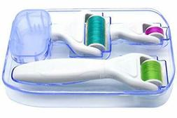 4 in 1 Derma Roller Kit for Face and Body - Healthy Care Cos