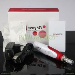Anti Aging Electric Derma Pen Stamp Auto Micro Needle Roller