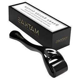 MATKAS Derma Roller For Face, 540 Ultra Titanium Needles, No