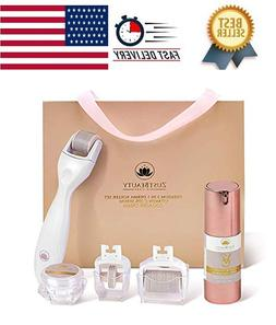 Derma Roller Kit 0.3MM for Face & Body Skin Care All-In-One