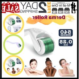 EsMall Derma Roller Kit Cosmetic Needling Instrument Face Ma