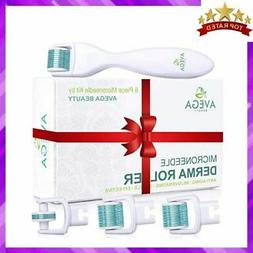 Derma Roller Kit for Face & Body: 0.25mm Length Microneedle