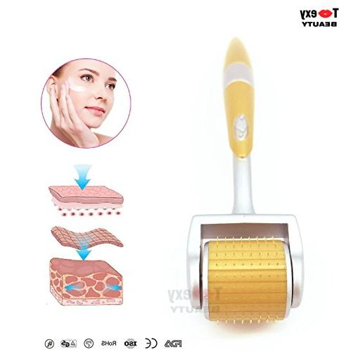 0.25mm, Micro Roller Tips for Tool, Anti Aging Hair Loss Acne