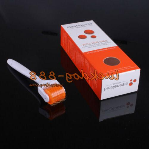 DNS Titanium Microneedle Derma Roller for Hair Body Scars