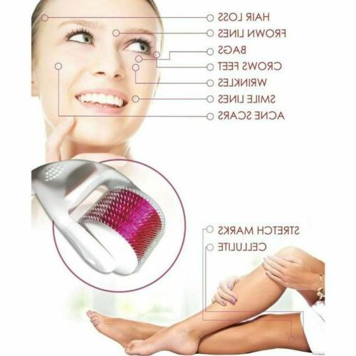 3 roller Needle Face Healthy Care Anti Ageing
