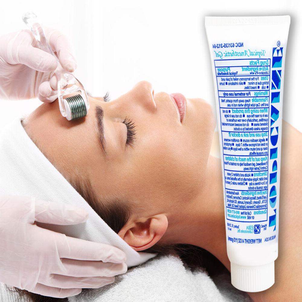 TOPICAINE 4 Numbing Gel for derma roller micro needle pain r