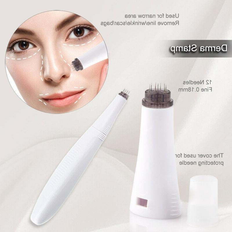 6 Roller Microneedle Care Face Brush &