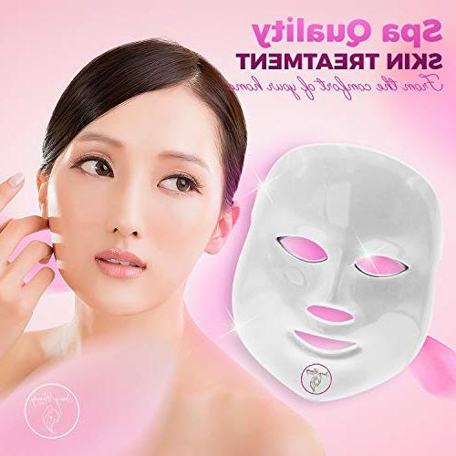 7 LED Therapy Collagen Boost Professional Korean Rejuvenation | Beauty Light Upgrade Care