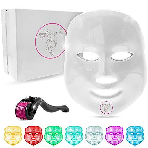 7 color led light therapy photon mask
