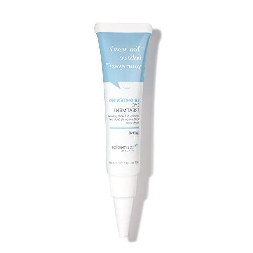 New Brightening Eye Gel With Hyaluronic Acid, Vitamin C & E,