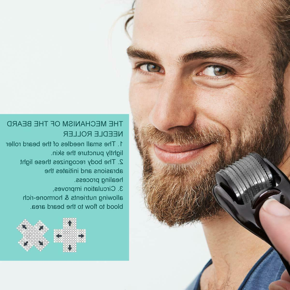 Beard Kit Growth Derma Wax in 1