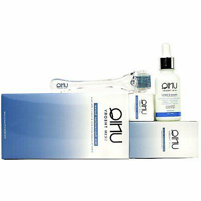 Derma Kit 0.3mm with Serum, Micro Needle Facial Roller...
