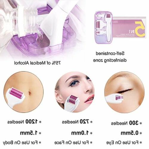 Derma roller in 1 Needle Face