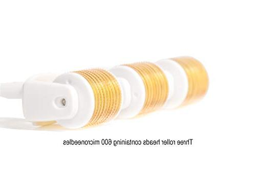 Derma Microneedle 5 3 Replacement 600 MicroNeedling .25mm Exfoliate Face |