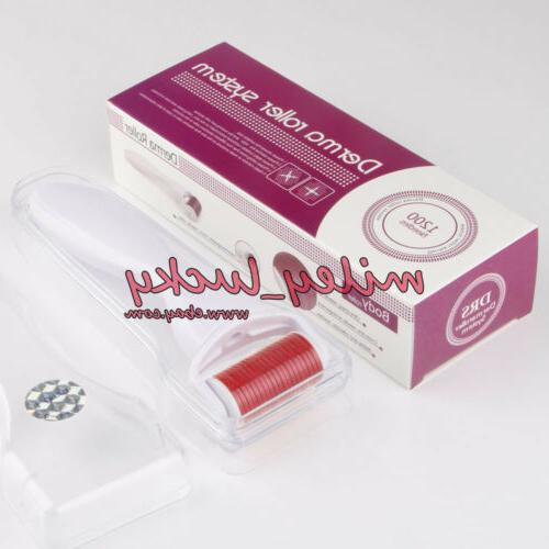 Needle Derma Roller Face Scar Skin Care Therapy