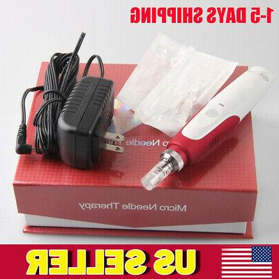 Electric Pen Stamp Auto Anti Micro Needle Skin Facial Care