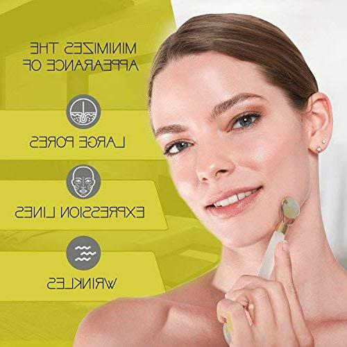 Jade Kit Face Therapy Stone C Firms, Tightens Look Look of Circles, + FREE