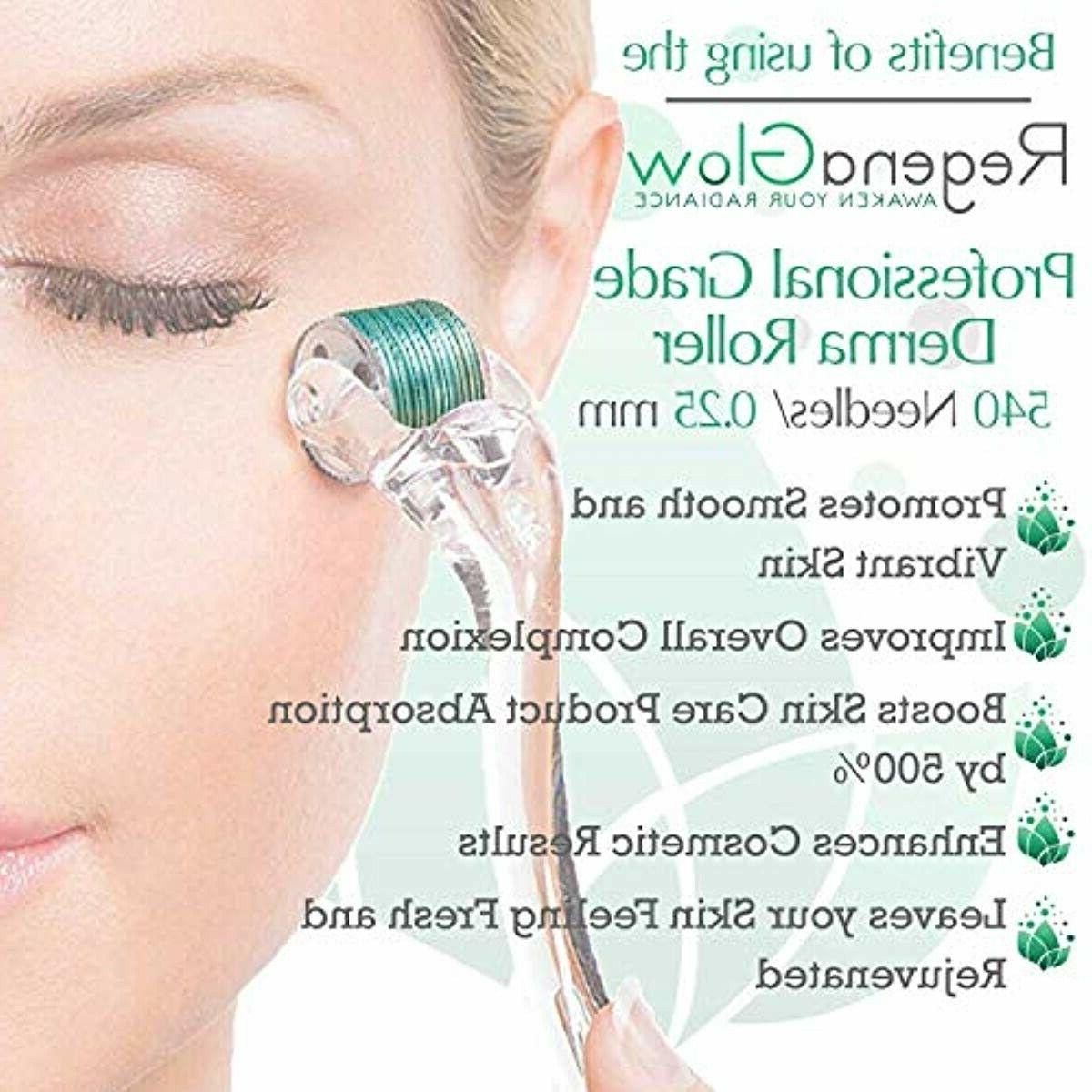 Sdara Skincare Microneedle Cosmetic Kit Head BestValue