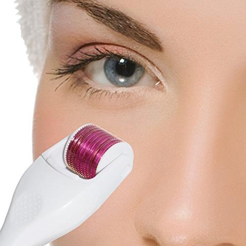 ClairClear Premium Roller Kit: 1 Roller User's | Replacement Cosmetic Face Micro Needle Skin Care Use