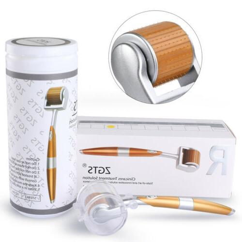 100% Authentic Titanium Micro Needle Derma Roller Meso Anti