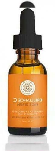 Vitamin C Serum Dark Spot Corrector for Face, with Hyaluroni