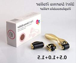 Airblasters 3in1 New Micro Needles Microneedle Derma Roller