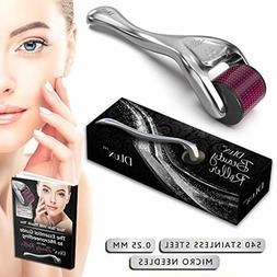 Microneedle Derma Roller with Protective Kit and Ebook New 2