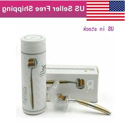 ZGTS TITANIUM 192 MICRONEEDLE DERMA ROLLER FOR ACNE SCAR