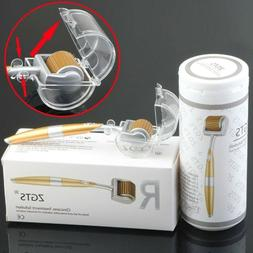 ZGTS TITANIUM DERMA ROLLER Micro Needles Scars Cellulite Ant
