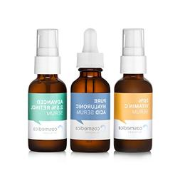 Trio Set Value- Vitamin C Serum 20% Retinol Serum 2.5% Hyalu