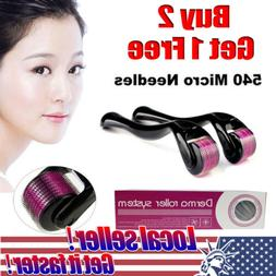 US LOCAL 0.5mm-2mm Needle Derma Skin Face Scars Acne Wrinkle